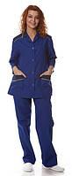 """Блузон с брюками """"Марго"""" для медработниц, горничных"""