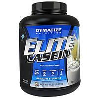 Dymatize Nutrition, Elite, Казеин, Мягкая Ваниль, 4 фунта (1, 81 кг)
