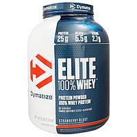Dymatize Nutrition, Elite 100% Whey Protein, Strawberry Blast, 5 lbs (2.27 kg)