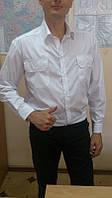 Рубашка форменная белая, для охранных структур