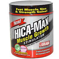 Labrada Nutrition, HICA-Max, стимулятор роста мышц, вкусовое ассорти, 90 жевательных таблеток