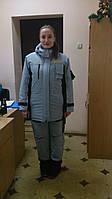 Рабочий женский костюм. Утепленная спецодежда