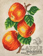 Схема для вышиви бисером  Винтаж. Яблоки