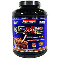 ALLMAX Nutrition, QuickMass, Loaded, Rapid Mass Gain Catalyst, Chocolate, 95 oz (2.7 kg)