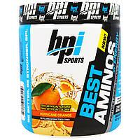 BPI Sports, Энергетическая аминокислотная добавка, ВСАА и глютамин, связанные в пептидную цепь, Апельсиновый взрыв, 10,58 унции (300 г)