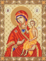 Схема для вышиви бисером Икона Божией Матери ''Воспитание''
