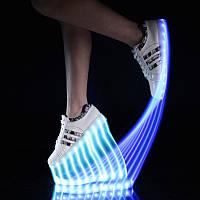 Светящиеся Кроссовки LED-USB Детские и Подростковые, Новейшие модели(35-44 р).Хит 2017г.
