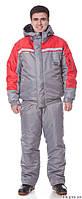 Костюм утепленный, спецодежда зимняя, курточка и брюки рабочие зимние