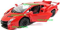 Машинка на радиоуправлении Ламборгини Lamborghini Veneno, открываются двери, 23см, аккумулятор, свет