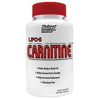 Nutrex Research Labs, Липо-6 Карнитин, 120 жидких капсул