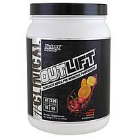 Nutrex Research Labs, Outlift, источник энергии перед тренировкой, дикая вишня и цитрусовые, 17,8 унций (506 г)