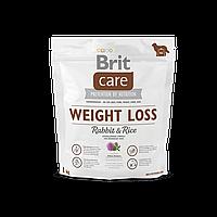 Brit Care Weight Loss Rabbit & Rice корм для собак с избыточным весом, 1 кг