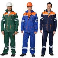Сигнальная спецодежда, одежда для дорожных служб, рабочие демисезонные костюмы