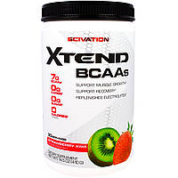 Scivation, Xtend, аминокислоты с разветленной цепью, киви и клубника, 14,5 унции (410 г)