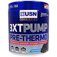 USN, CoreSeries, 3XT-Pump Pre-Thermo, синяя малина, 6,9 унции (196 г)