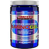 ALLMAX Nutrition, AminoGel, Halal Certified Maximum Strength Amino Acid, 300 Softgels