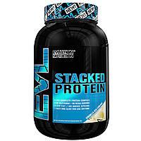 EVLution Nutrition, Комплексный Протеиновый Коктейль, Ванильное мороженое, 2 фунта (888 г)
