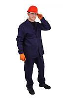 Костюм рабочий диагональ, темно-синий костюм рабочий, куртка и брюки
