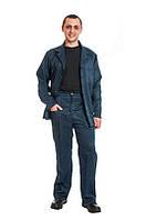 Костюм рабочий с греты под заказ, спецодежда летняя, куртка и брюки пошив