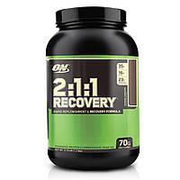 Optimum Nutrition, Восстановление 2:1:1, формула для быстрого восполнения и восстановления, колоссальный шоколад, 3,73 фунта (1,7 кг)