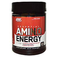 Optimum Nutrition, Энергия незаменимых аминокислот с фруктовым вкусом, 585г