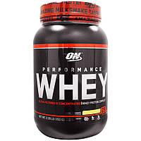 Optimum Nutrition, Молочная сыворотка, протеиновый ванильный коктейль 2,09 фунта (950 г)