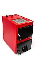 Твердотопливный котел Проскуров АОТВ - 25 кВт с плитой. Толщина стали теплообменника - 4 мм.