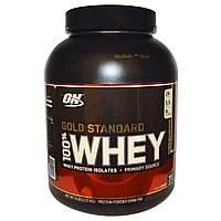 Optimum Nutrition, 100 % молочная сыворотка Золотой стандарт, Молочный шоколад, 5 фунтов (2.273 г)