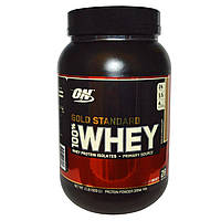 Optimum Nutrition, Gold Standard 100% Whey, Mocha Cappuccino, 2 lbs (909 g)