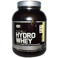 Optimum Nutrition, Platinum Hydrowhey, Velocity Vanilla, 3.5 lbs (1,590 g)
