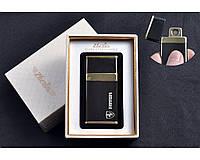"""Спиральная USB-зажигалка """"Ferrari"""" №4784-2, выделяемся из толпы, модный и стильный аксессуар курильщика"""