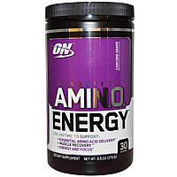 Optimum Nutrition, Энергетическая добавка с незаменимыми аминокислотами, Виноград, 0,6 фунтов (270 г)