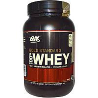 Optimum Nutrition, Золотой стандарт 100% молочная сыворотка, Печенье и сливки, 2 фунта (909 г)