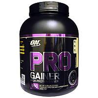 Optimum Nutrition, Протеин для набора веса Pro Gainer, с высоким содержанием белка, ванильный заварной крем, 5,09 фунта (2,31 кг)