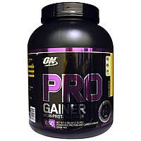 Optimum Nutrition, Протеин для набора веса Pro Gainer, с высоким содержанием белка, банановый кремовый пирог, 5,09 фунта (2,31 кг)