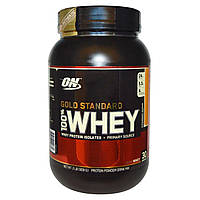 Optimum Nutrition, Gold Standard 100% Whey, Strawberry Banana, 2 lbs (909 g)