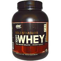 Optimum Nutrition, Gold Standard 100% сывороточный протеин порошок, Шоколадно арахисовое масло 3.31 фунтов (1.5 kг)