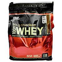 Optimum Nutrition, 100%-ный Сывороточный Протеин, Золотой Стандарт, Шоколад с Удвоенной Калорийностью 8 фунтов (3,63 кг)