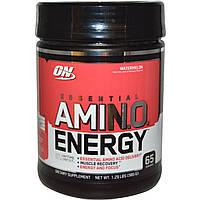Optimum Nutrition, Энергетическая добавка с незаменимыми аминокислотами, Арбуз, 1,29 фунта (585 г)