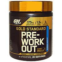 Optimum Nutrition, Добавка золотого стандарта для приема перед тренировкой, со вкусом черничного лимонада, 10.58 унций (300 г)
