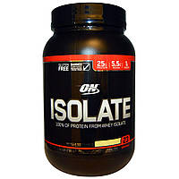 Optimum Nutrition, Isolate, Vanilla Softserve, 1.62 lbs (736 g)