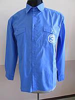 Рубашка корпоративная с длинным рукавом оптом