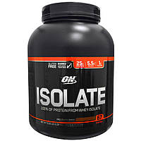 Optimum Nutrition, Изолят протеина, шоколадный коктейль, 5,02 фунта (2,28 кг)