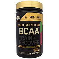 Optimum Nutrition, Золотой стандарт BCAA, комплекс аминокислот с разветвленными боковыми цепями (BCAA) для тренировки и восстановления со вкусом