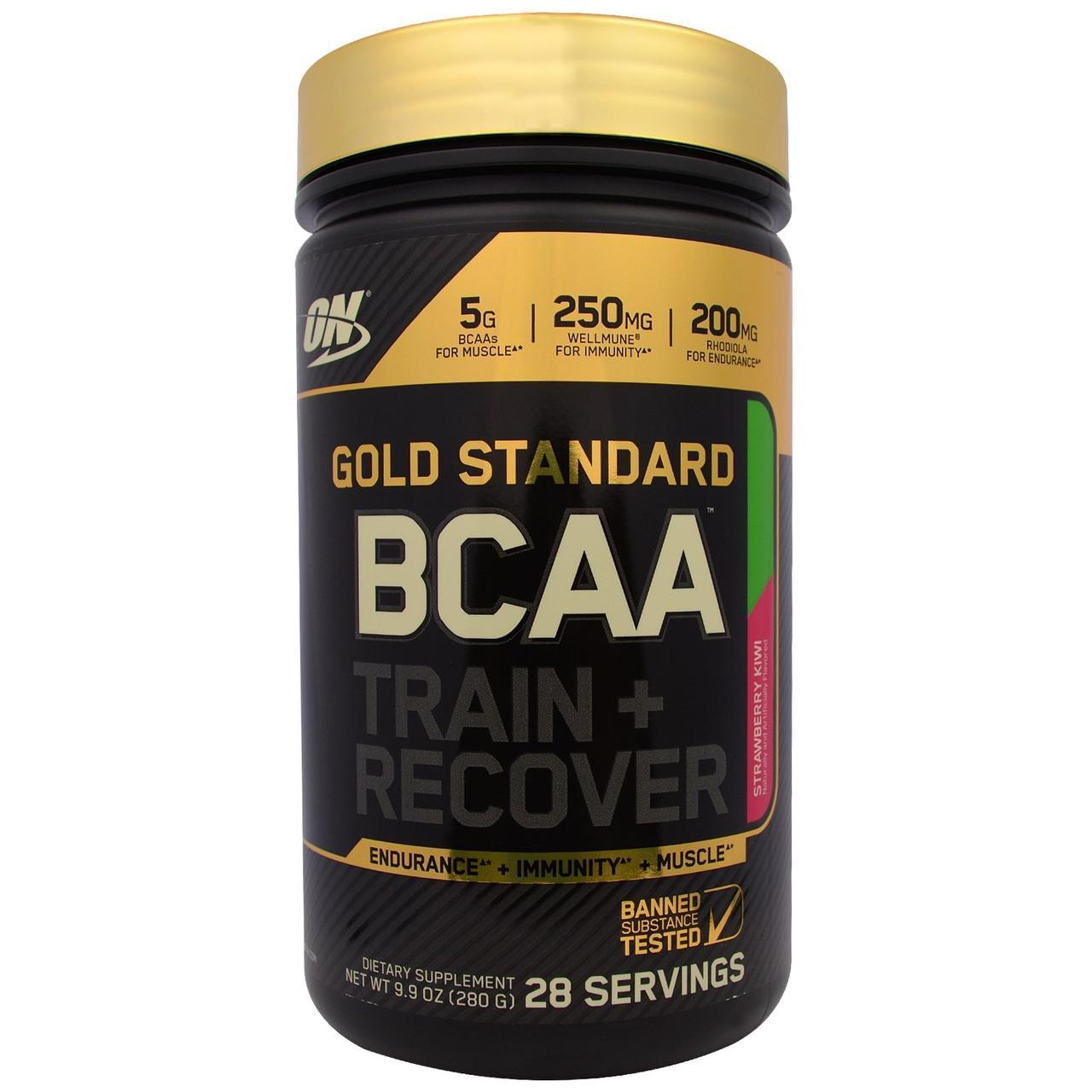 Optimum Nutrition, Золотой стандарт BCAA, комплекс аминокислот с разветвленными боковыми цепями (BCAA) для тренировки и восстановления со вкусом - Интернет-магазин для здоровой жизни в Киеве
