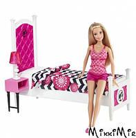 Роскошная спальня, с куклой Барби. Barbie. Mattel