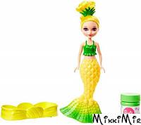 Русалочка Барби Сказочные пузыри из Дримтопии (желтая), Barbie, желтая DVM99