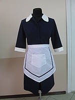 Униформа для горничных оптом, костюм-клининг, комплект для уборщицы