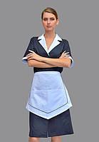 Стильная форма для клининга, платья и фартуки горничных
