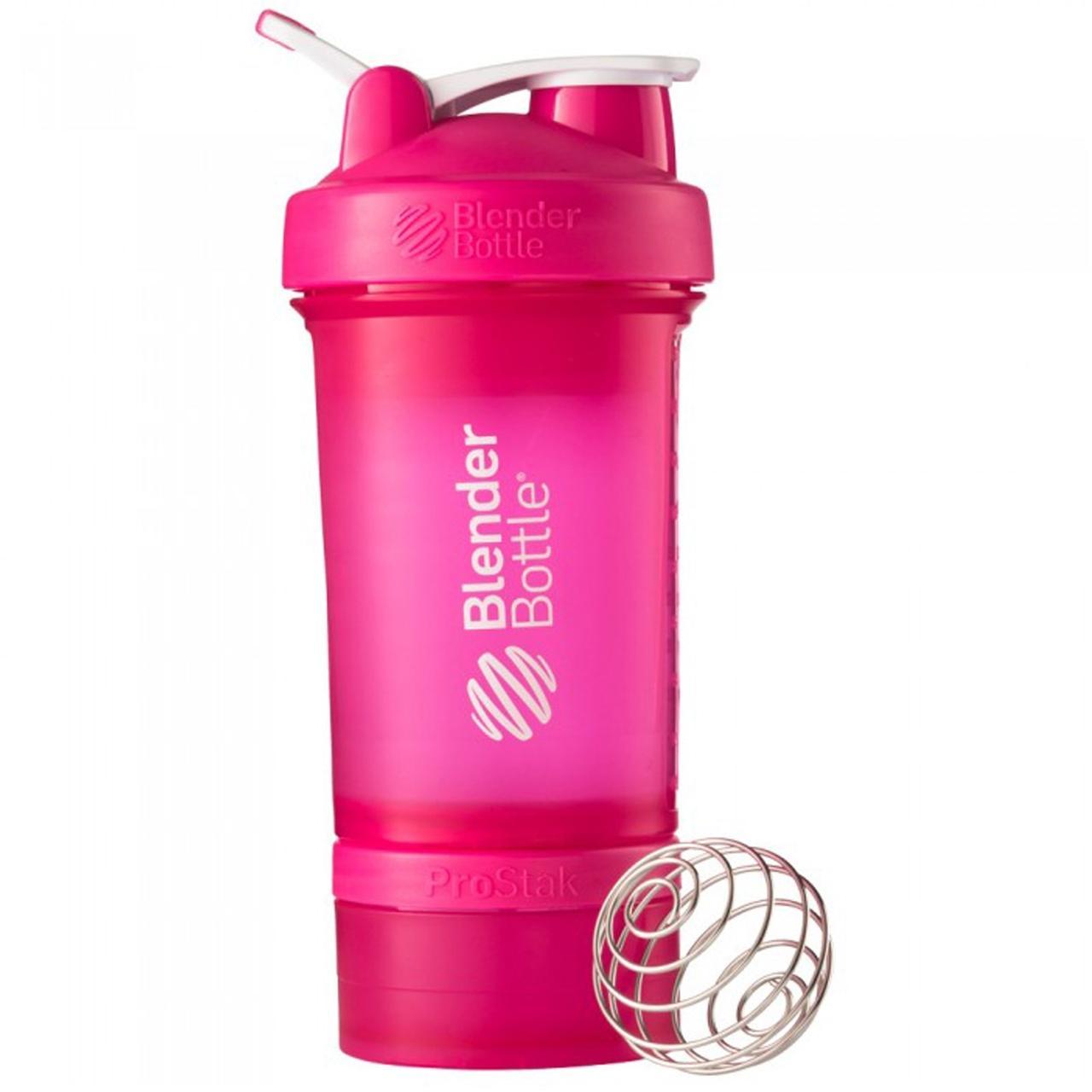 Sundesa, Бутылка-блендер Prostak, розовый, 22 унции - Интернет-магазин для здоровой жизни в Киеве